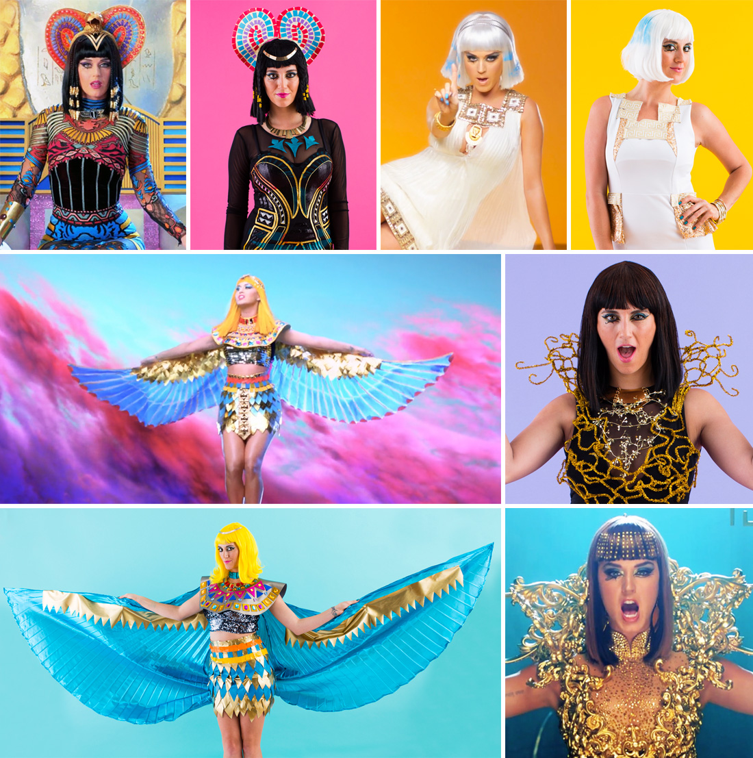 Okay  okay     I guess we   ll let you take a break and actually watch    Katy Perry Dark Horse Egyptian Costume