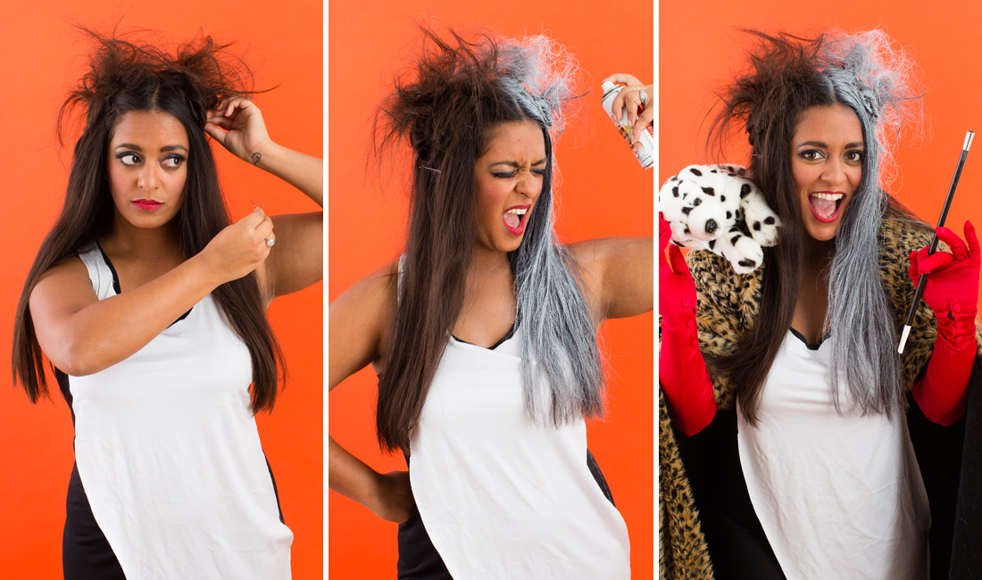 Twenty 10 Minute Halloween Hair Hacks That Will Complete