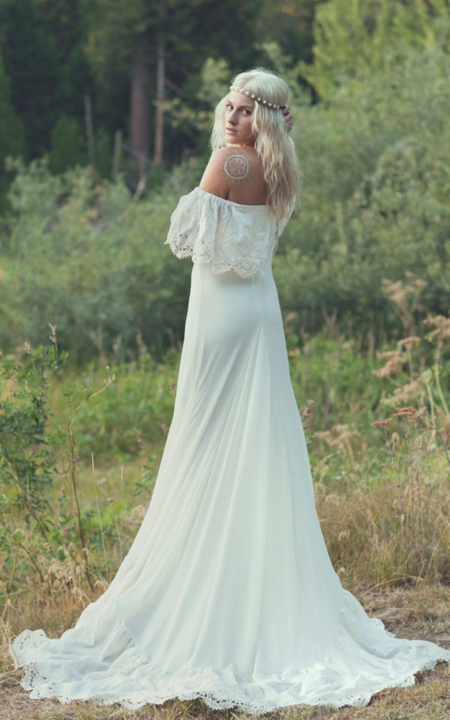 20 Wedding Dresses For The Bohemian Bride Brit Co