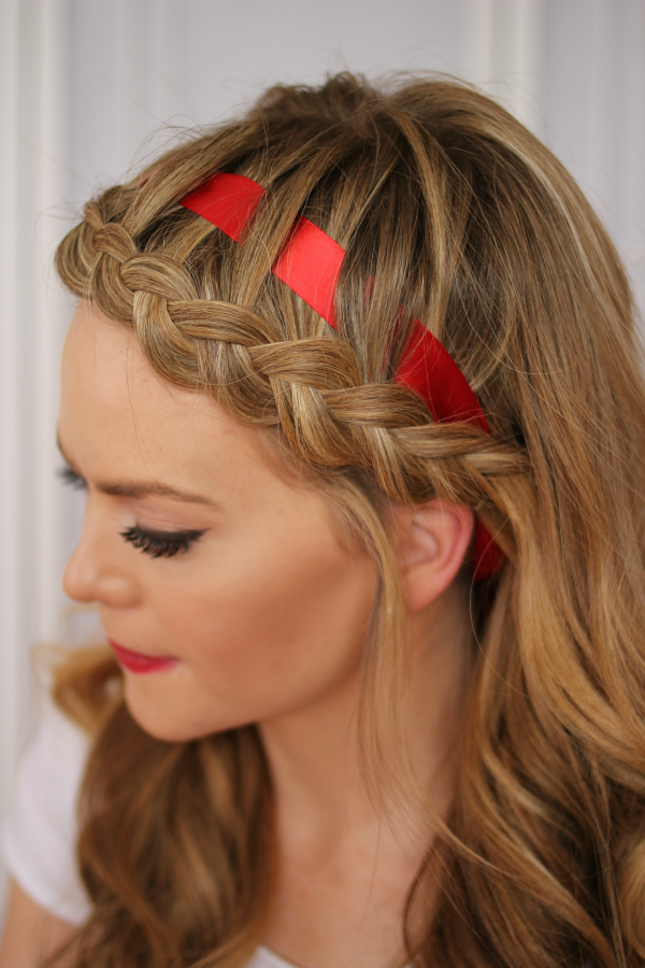 12 Ways to Rock Ribbon in Your Hair | Brit + Co
