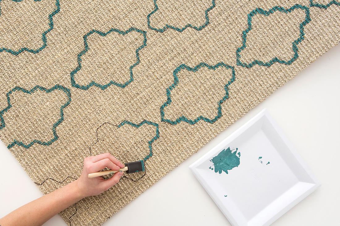 Decorazione fai da te per il tappeto fai da te creativo - Tappeti immagini ...