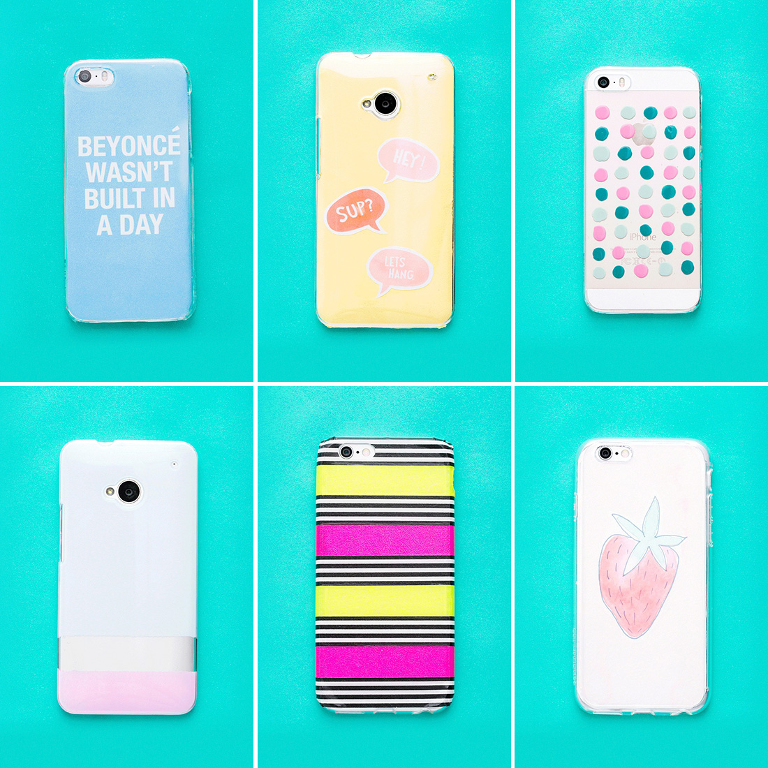 diy iphone case diy these 6 phone cases in 10 minutes brit co 10509