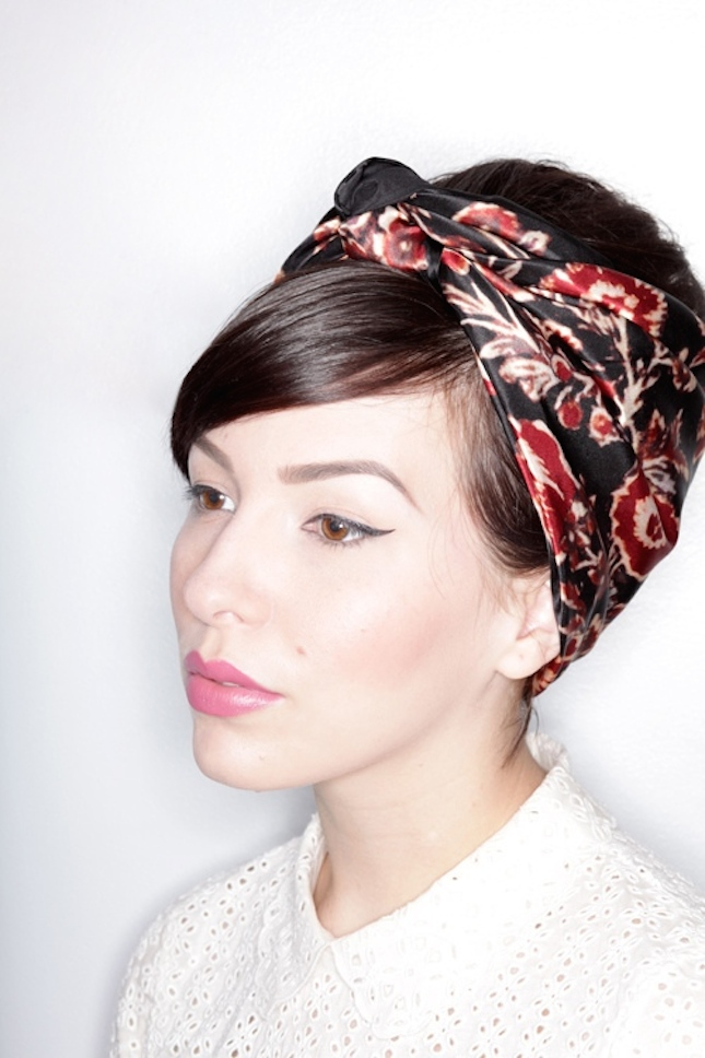head wrap styles for short hair 12 ways to a haircut without a trip to the salon 7073 | Scarf Short Hair