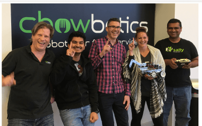 Chowbotics now the world record holder for Battlebots!
