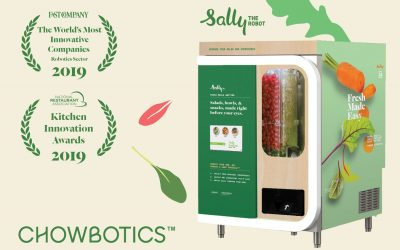 Recent Awards Attest to How Chowbotics is Propelling Innovation in Foodservice Through Robotics