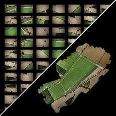 Maps Made Easy Image Stitching Orthophoto