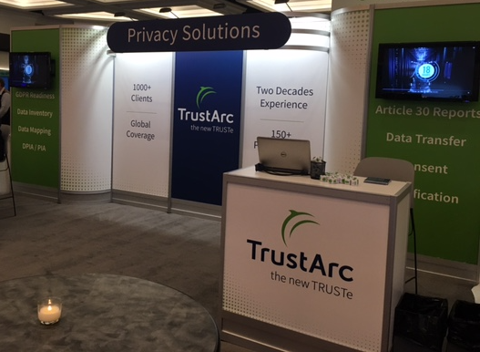 TrustArc Booth At Privacy Security Risk 2017