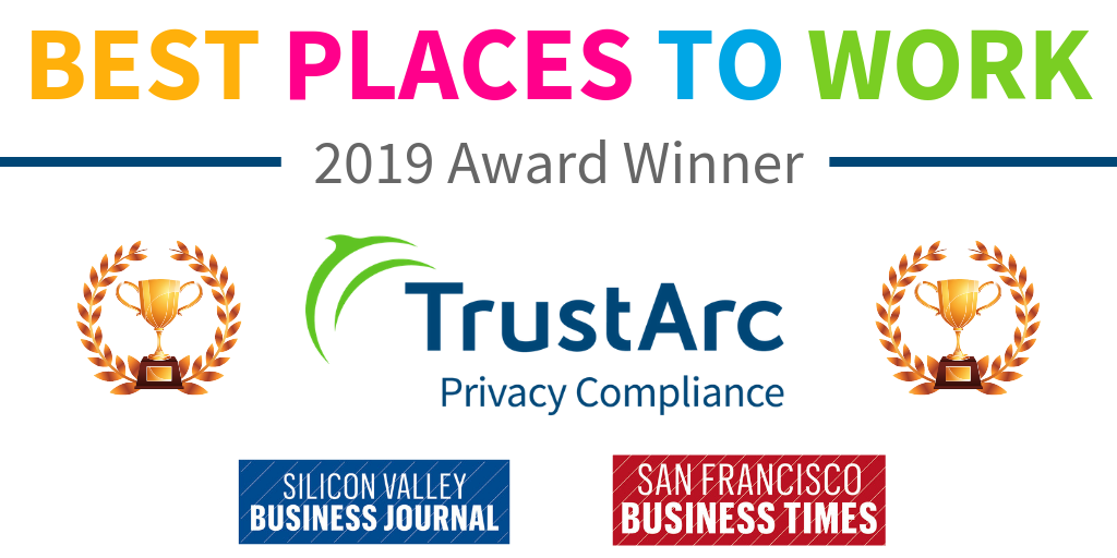 TrustArc Recognized as 2019 Bay Area Best Places to Work