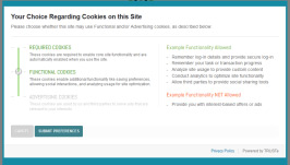 EU cookie consent manager for informed consent regarding the collection and use of personal information.