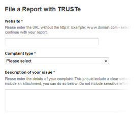 Privacy dispute resolution services are an integral part of TRUSTe's DPM