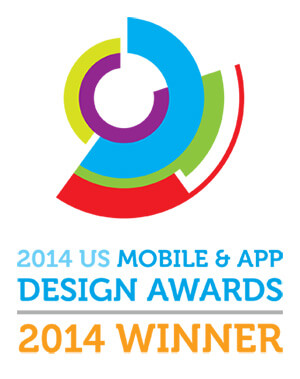 US Mobile & App Design Silver Award 2014