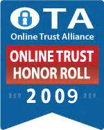 OTA Online Trust & Honor Roll 2009