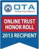 OTA Online Trust & Honor Roll 2013