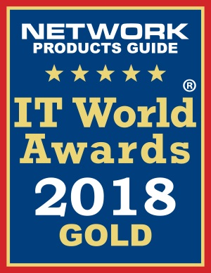 2018 IT World Awards Gold Winner