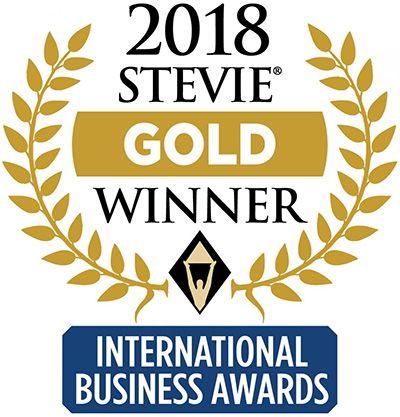 2018 International Business Awards Stevie Gold Winner