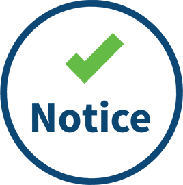 GDPR Online and Offline Notice and Choice icon
