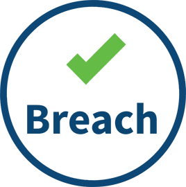 Data Breach and Incident Response icon