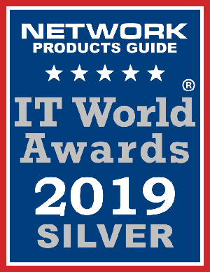 2019 IT World Awards Silver Winner