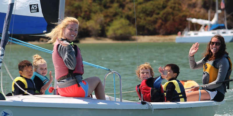 St. Francis Sailing Foundation Launches Set Sail Learn at the Treasure Island Sailing Center