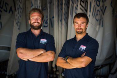 David Liebenberg and Dan Morris