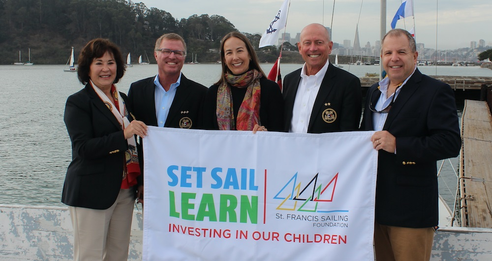 Treasure Island Sailing Center Receives US Sailing Jim Kilroy Outstanding Outreach and Inclusion Award