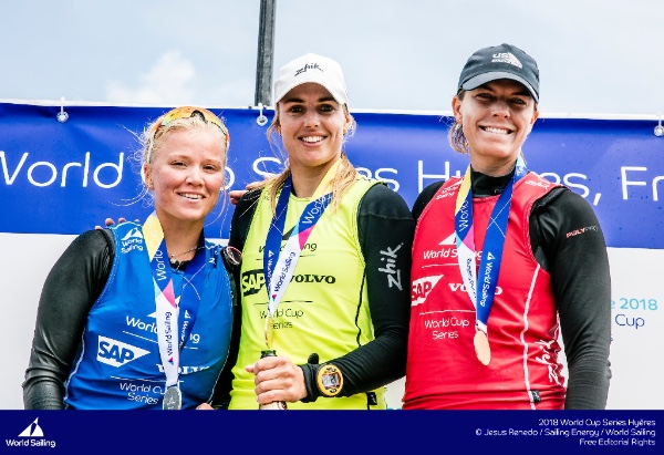 StFSF Grantee Takes Bronze At World Cup Series Hyeres 2018