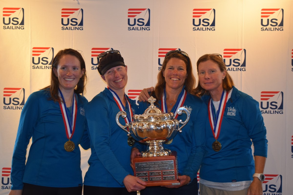 Nicole Breault & Crew Win Third U.S. Women's Match Racing Championship