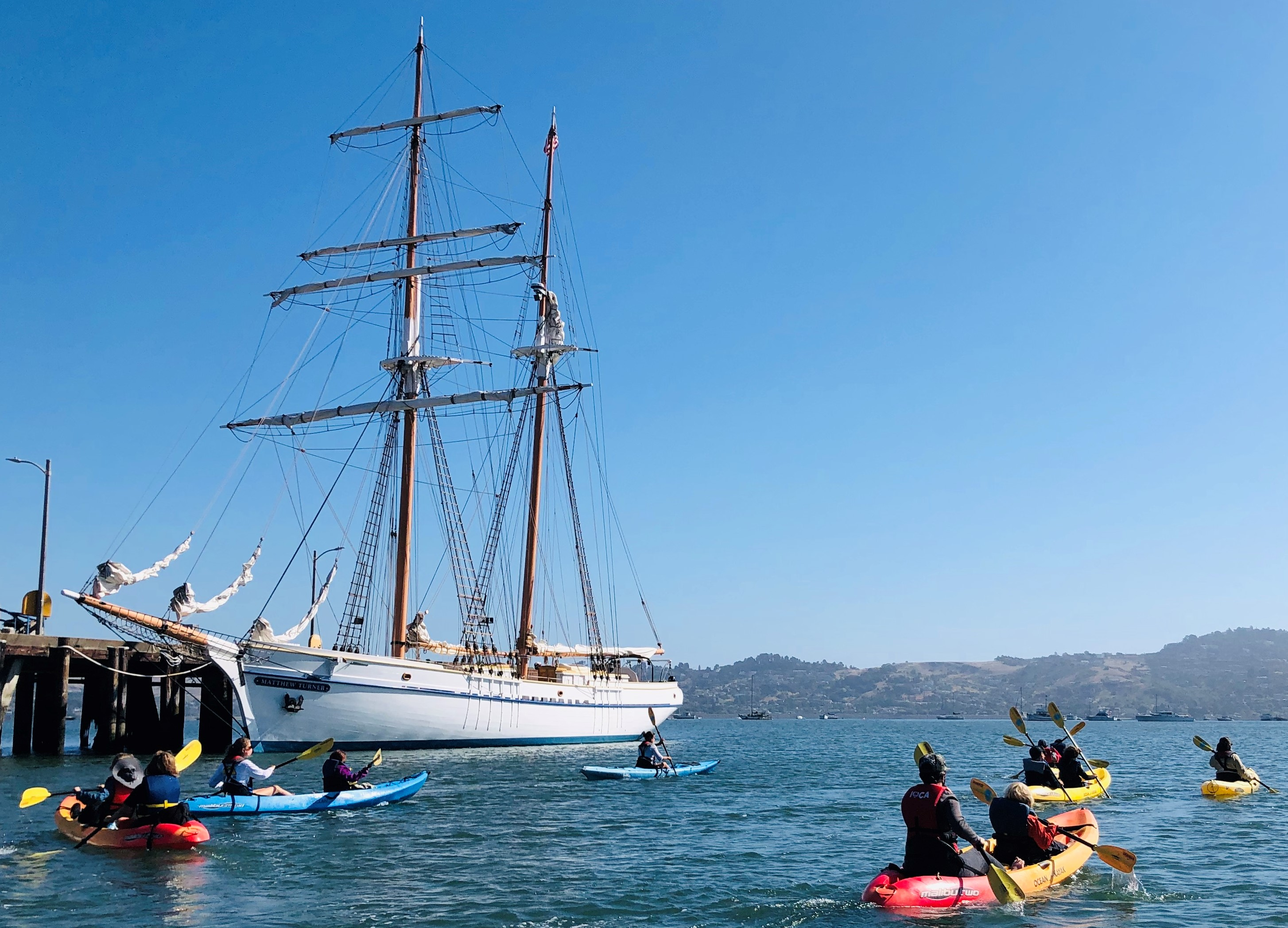 Call of the Sea Summer Camps Under Way; Educational Tall Ship Matthew Turner Sets Sail