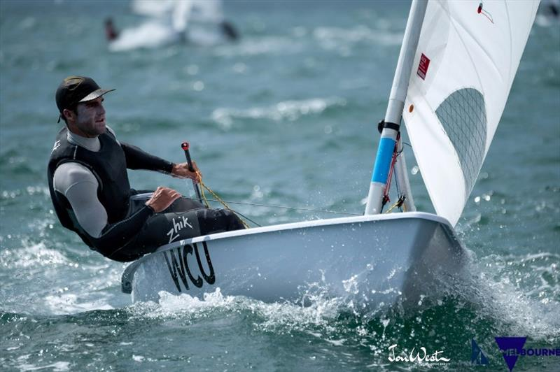 Productive European Tour For Laser Sailor Charlie Buckingham