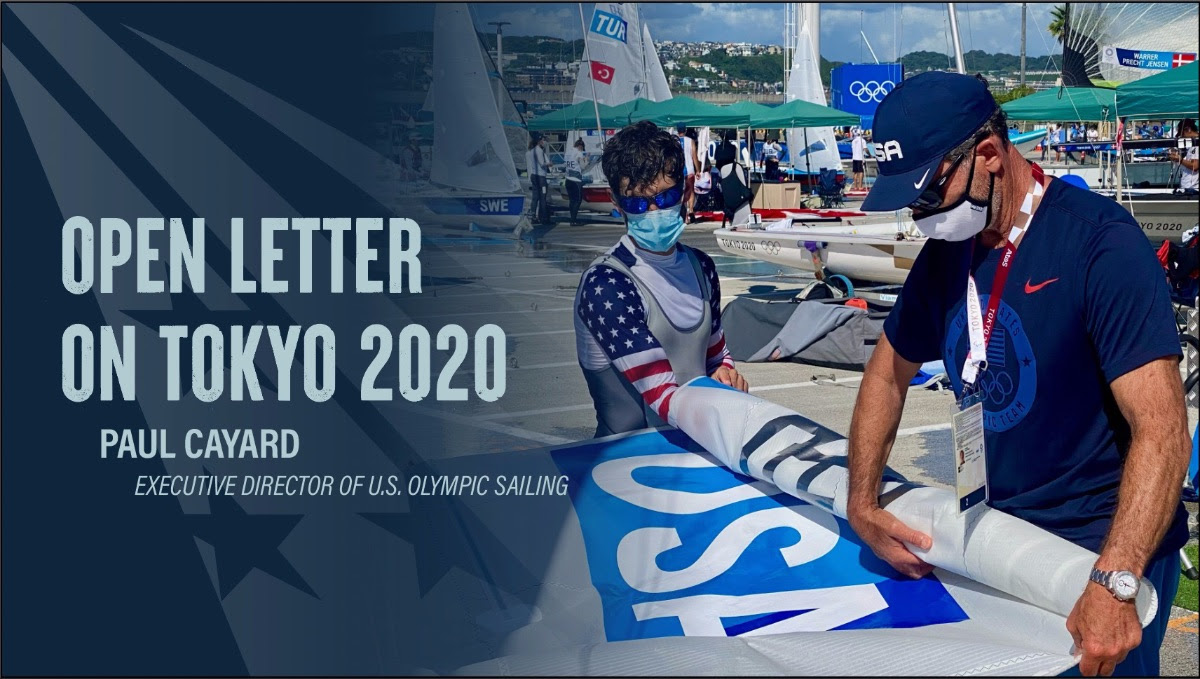OPEN LETTER: PAUL CAYARD FROM TOKYO 2020 OLYMPIC SAILING VENUE