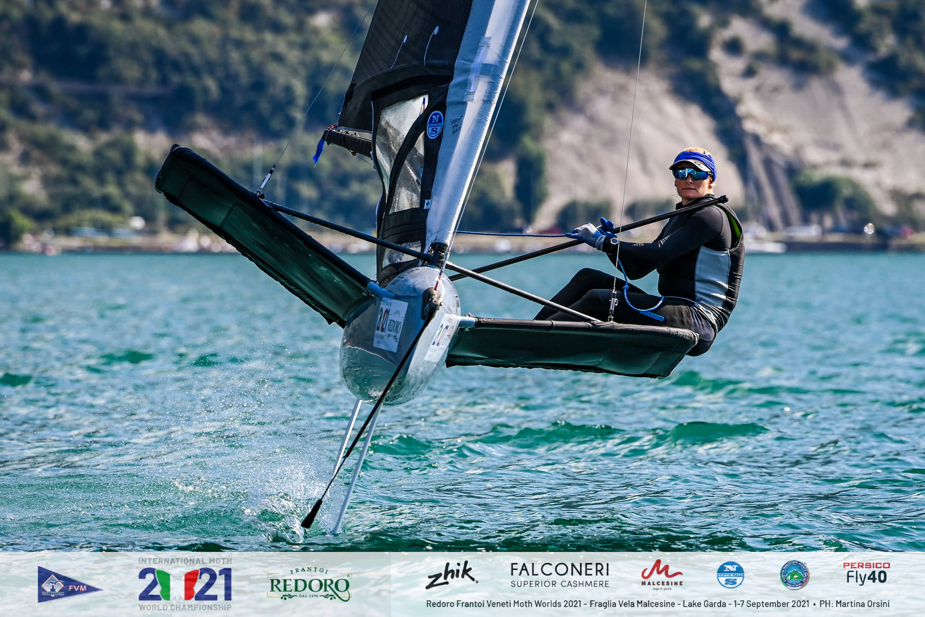 Scutt Wraps up the 2021 Moth World Championships