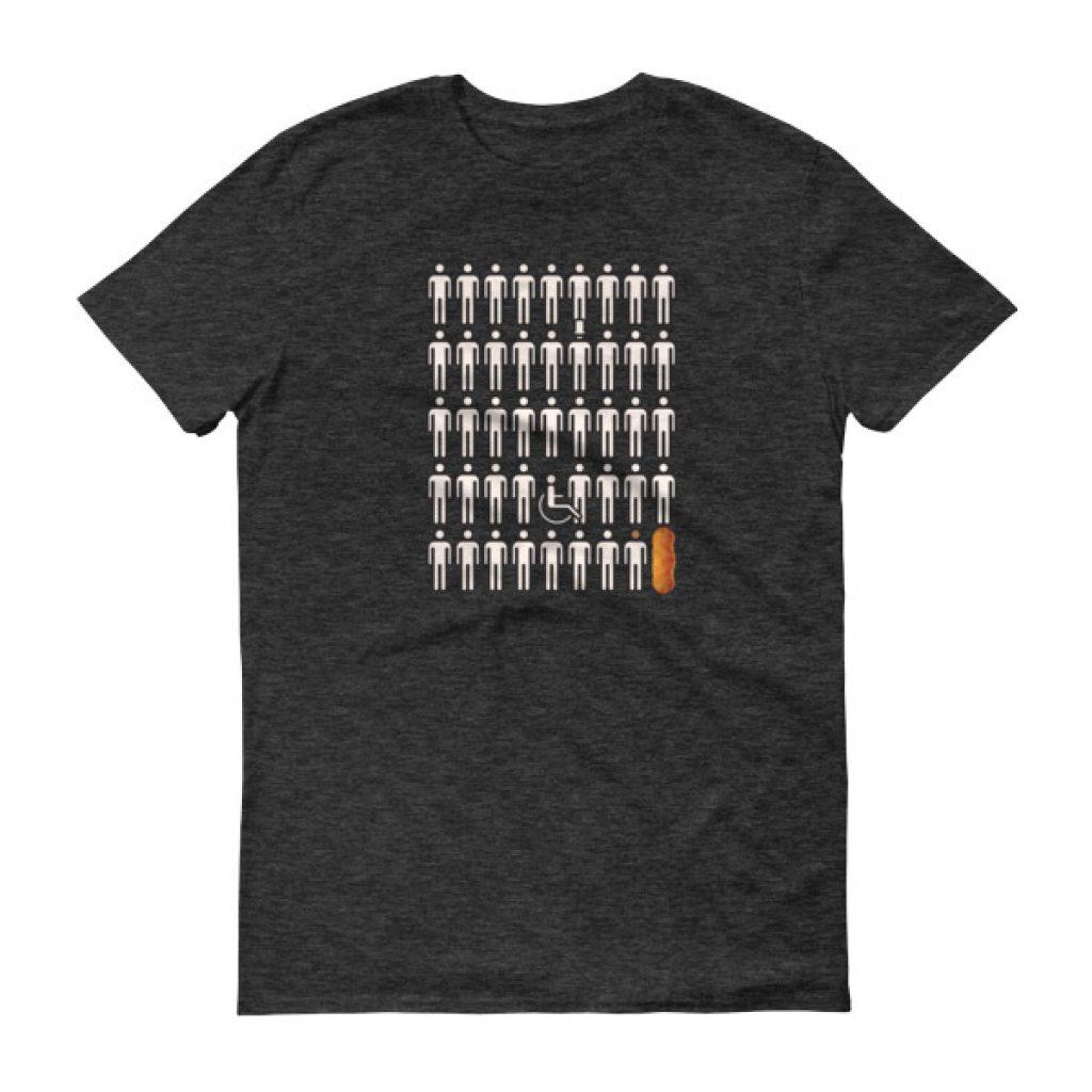 Cheeto POTUS 45 icon Short sleeve t-shirt