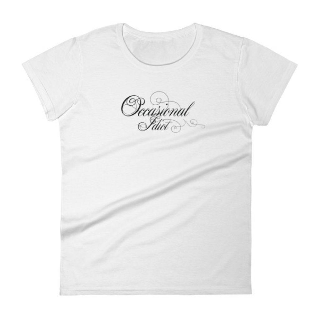 Occasional Idiot Light Women's short sleeve t-shirt