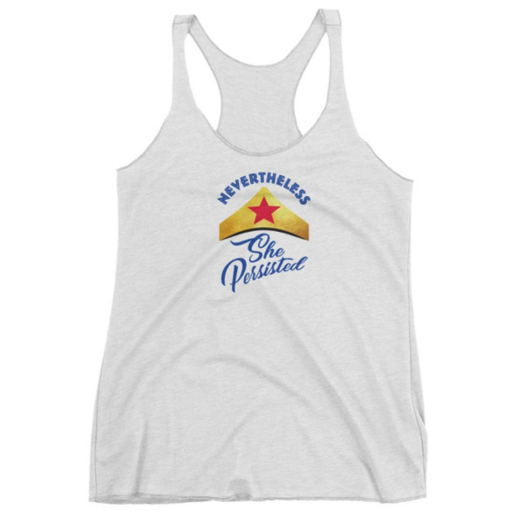 She Persisted Crown Women's tank top