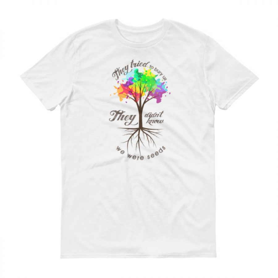 We Were Seeds Color Short sleeve t-shirt – Stinky Junior