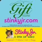 stinkyjr gift certificate
