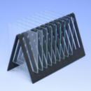Mini-Glass-Rack-for-drying-or-storage-of-mini-gel-glass-plates-12-place-C-B-S-Scientific-Company-Inc-GR-200-12B