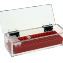 Microfuge-Tube-Rack-Container-with-hinged-lid-80-place-Includes-Microfuge-tube-rack-C-B-S-Scientific-Company-Inc-RK-080-YE-1