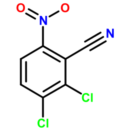 2-3-Dichloro-6-nitrobenzonitrile-Molekula-Group-33774910-5G