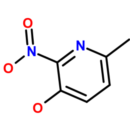3-Hydroxy-2-nitro-6-picoline-3-Hydroxy-6-methyl-2-nitropyridine-Molekula-Group-48392275-1G