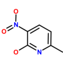 2-Hydroxy-3-nitro-6-picoline-2-Hydroxy-6-methyl-3-nitropyridine-Molekula-Group-60134158-5G