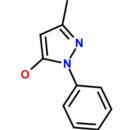 5-Hydroxy-3-methyl-1-phenylpyrazole-Molekula-Group-86415967-1G