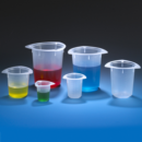 Beaker-Three-Corner-PP-Graduated-800mL-Globe-Scientific-3644