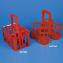 Bottle-Carrier-6-Place-For-Bottles-Up-To-95mm-Wide-RED-Globe-Scientific-600395
