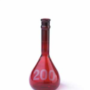 Class-A-RAY-SORB-Heavy-Duty-Wide-Mouth-Volumetric-Flask-without-Stopper-10-mL-Kimble-Chase-92822N-10