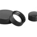 Black-Phenolic-Caps-with-Cemented-In-Rubber-Liners-Kimble-Chase-75204G-24400