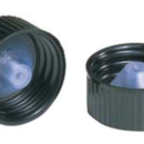 Black-Phenolic-Caps-with-Cone-Shaped-LDPE-Liners-Kimble-Chase-75205-22400