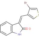 3-Z-4-bromo-3-thienyl-methylidene-1H-indol-2-one-Key-Organics-6Y-0861-100MG