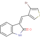 3-Z-4-bromo-3-thienyl-methylidene-1H-indol-2-one-Key-Organics-6Y-0861-50MG