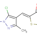 5-Z-5-chloro-1-3-dimethyl-1H-pyrazol-4-yl-methylidene-1-3-thiazolane-2-4-dione-Key-Organics-MS-2643-100MG